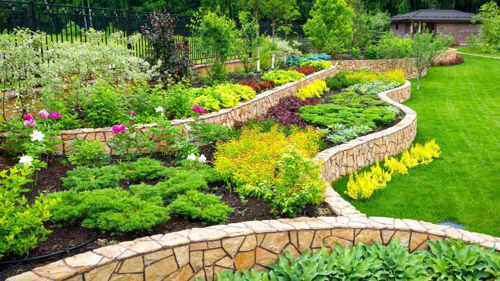Using Natural Rocks inside your Landscape Gardens